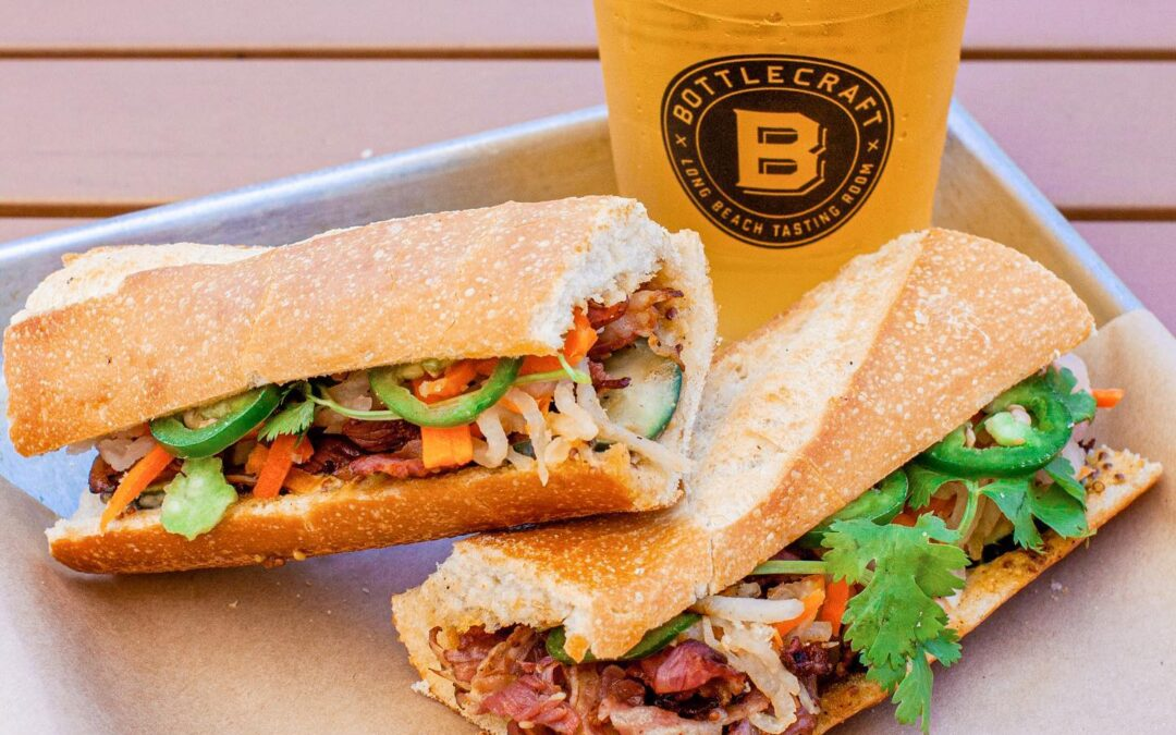 """Take a """"Wok"""" on the Wild Side with Bite Mi's Newest Addition: Pastrami Banh Mi"""