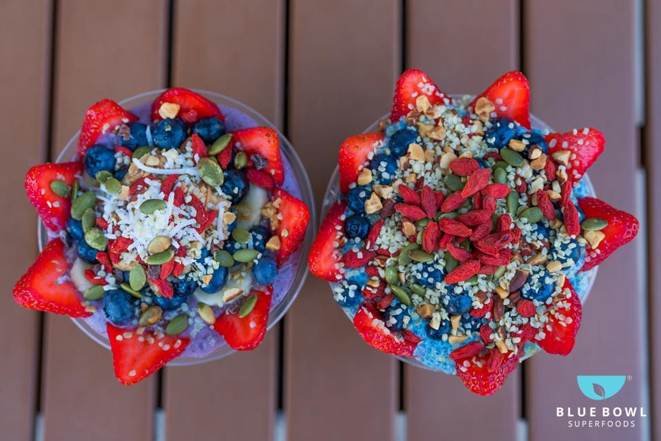 Sweet Superfoods from Blue Bowl